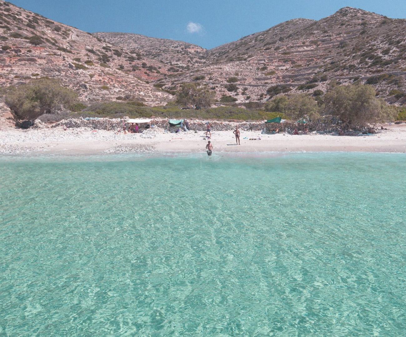 Παραλίες της Δονούσας